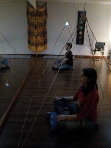 meditación acupirámide